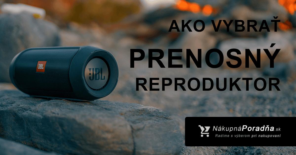 Ako vybrať prenosný reproduktor