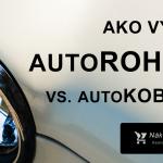 Autorohože VS. Autokoberce → Ktoré vybrať? ✔️ TOP 2021 +Kde kúpiť?