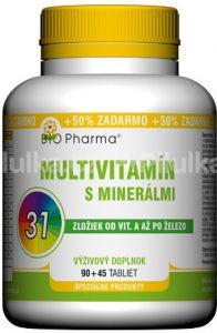 BIO Pharma Multivitamín s minerálmi
