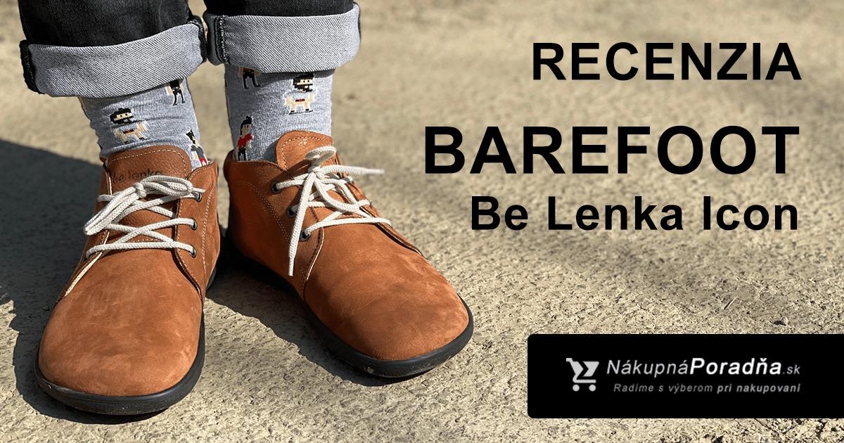 Barefoot Be Lenka Icon recenzia