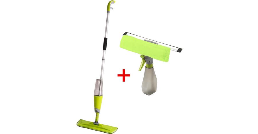Sada Mop Easy Quick Spray a stierka na okná - recenzia