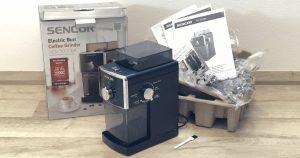 Sencor SCG 5050BK mlynček na kávu – recenzia