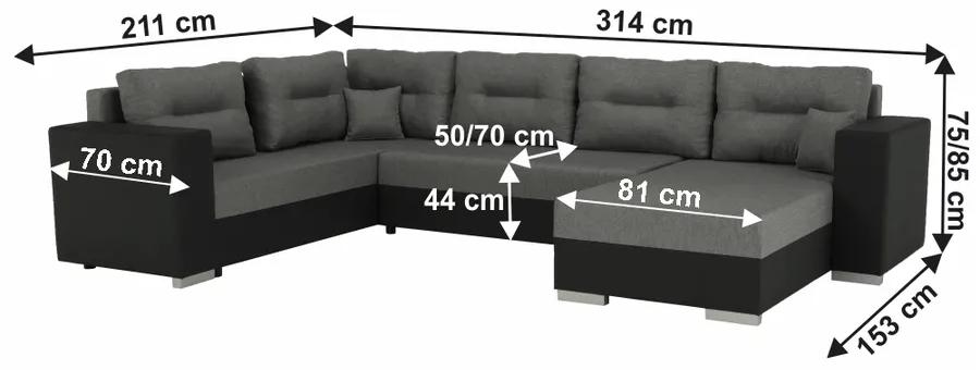 Univerzálna sedacia súprava MERSI