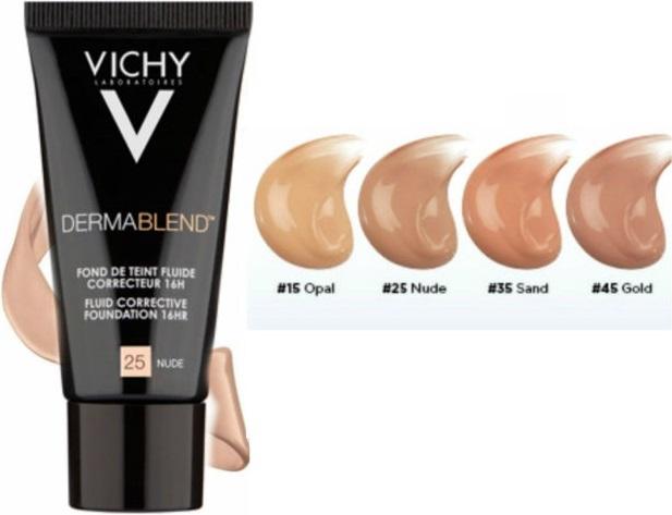 Vichy Dermablend Fluid Corrective Foundation